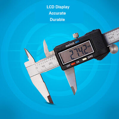 150MM 200MM 300MM Digital Electronic Vernier Caliper Stainless Steel Micrometer