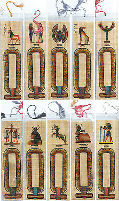 "PAPAYRUS BOOKMARK WITH YOUR NAME ON IT"" ZODIAC or PHARAONIC *VALUE*"