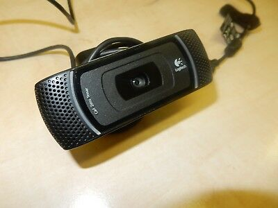 Logitech B910 HD 1080P Carl Zeiss Tessar USB Webcam With Microphone
