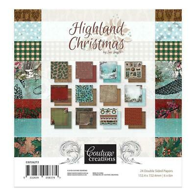 6x6 Couture Creations Highland Christmas Paper Pad