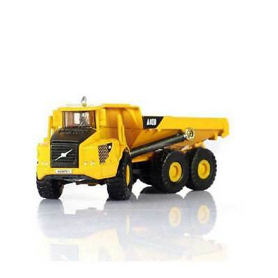 Alloy Diecast 1:87 Scale Dump Truck Construction Vehicle Car Lorry Model Toy