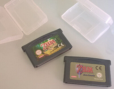 LOTE GBA ZELDA Game Boy Advance LINK TO THE PAST & A MINISH CAP,