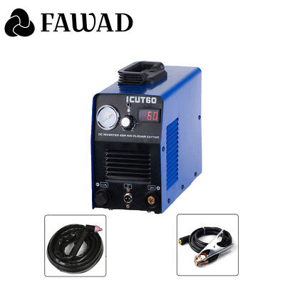 60A CUT IGBT Inverter DIGITAL Air Plasma Cutter machine Cut60 220V & Accessories