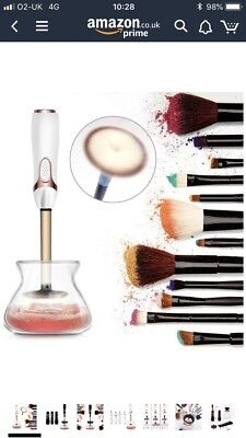 Makeup Brush Cleaner, Clean and Dry All Makeup Brushes Set in Seconds! - Profess