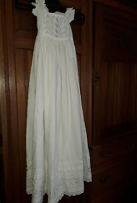 Antique/Vintage Christening gown white Gown