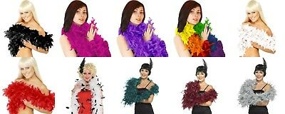 Feather Boa, Costume, Accessory, Hen Night, Burlesque, Party Fancy Dress Theatre