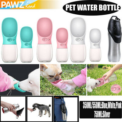 Dog Water Bottle Bowl Pet Cup Drinking Travel Outdoor Portable Feeder