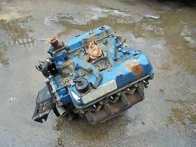 AMERICAN FORD 400 6 6 V8 Small Block Engine D9Te Code! No Res! Rare! Turns  Over!
