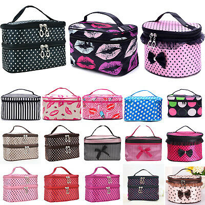 Large Make Up Organizer Cosmetic Bag Beauty Case Toiletry Lady Wash Holder Pouch