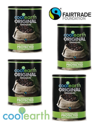 Cool Earth FAIRTRADE Instant Coffee 750g Multi pack Offers.