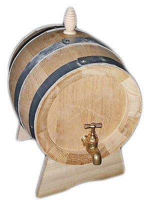 3 litres Oak barrel Cask wooden Barrels tickness 2.2 cm made in Italy