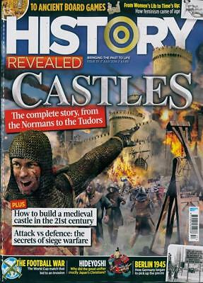 History Revealed Magazine #57 July 2018 ~ Castles The Complete Story ~ Hideyoshi