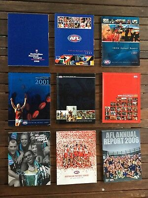 AFL Annual Reports 1998-2006