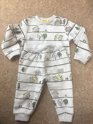 F&F Tractor Jumper And Trouser Set Never Worn Boys