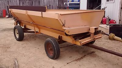 Self-Unloading Box Wagon Forage Silage  Barge Box   Corn   Farm Tractor Wagon