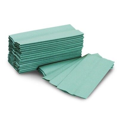 Green C-Fold Towels 1ply {from 210 - 8400 towels}