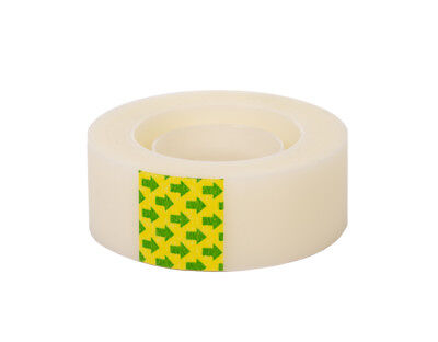 CLEAR BOOK REPAIR TAPE 19mm x 33m roll - great for fitting book jacket covers!