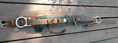 Klein Tools 5266N30 Lineman's Climbing Body Belt 1987 size 48-56 tree cutting