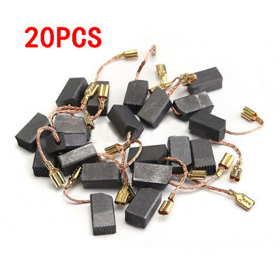 20Pcs 6x8x14mm Motor Carbon Brushes For Electric Drill Angle Grinder repair