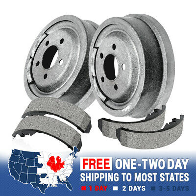 Rear Brake Drum & Brake Shoes For Chevy Blazer K1500 Tahoe K1500 Yukon Denali