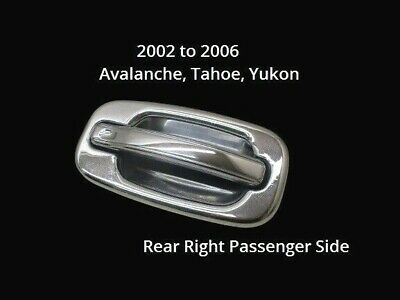 02-06 Chevy Avalanche Right Rh Passenger Rear Exterior Outside Door Handle Oem