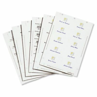 DURABLE Inserts for Duraprint Badgemaker Card 150g/m2 54x90mm- Pack of 200