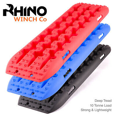4x4 Recovery Tracks Rhino 10t Off Road Traction Bridging Boards Sand / Mud /Snow