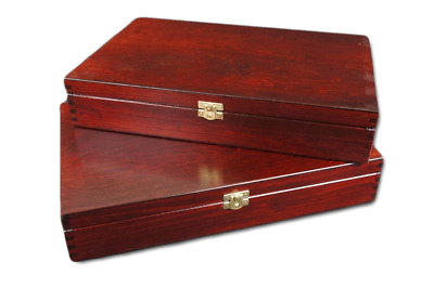 Wooden Coin Tray Cabinet Coin/ Medal Storage Box 3-6 Trays Collection Holder