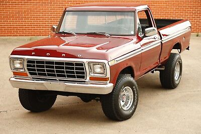 1973 Ford F-100  1973 Ford F100 4x4 short-wide bed