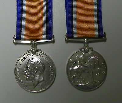 British Ww1 Silver War Medal..waters...a.o.c