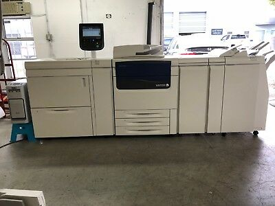 Xerox J75 Digital Press Color Laser Production Printer Copier Scanner 75PPM 2.8K