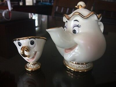 Lenox Disney Mrs Potts and Chip