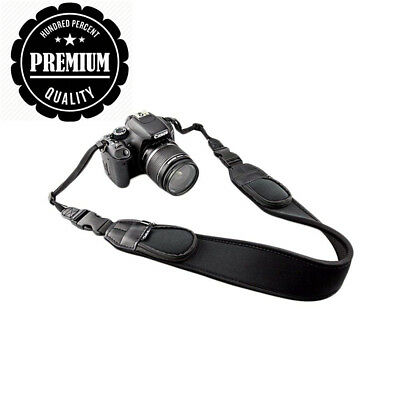JJC NS-Q2 Extra Wide Comfort Neoprene Neck Strap with Quick Release...