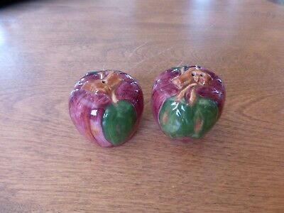 Franciscan Apple Salt And Pepper Shakers