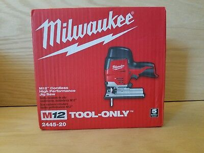 Brand New Milwaukee M12 Cordless Jig Saw  2445-20