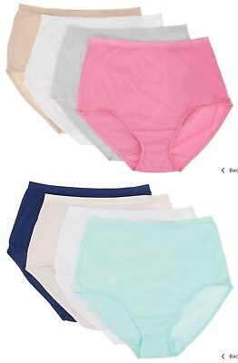 Breezies~(1) One~Cotton Full Briefs Panties~A301444~Choice of Sizes and Colors