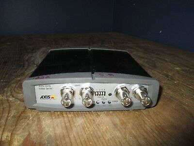 Axis 241Q 0185-001-04 4 Channel Network Video Server (no ac)