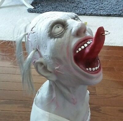 Zombie prop ,  Collectable. Spirit Halloween, scary