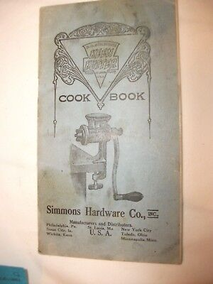 Vintage 1915 Simmon Hardward Cokeen Kutter Cookbook 31 Pages