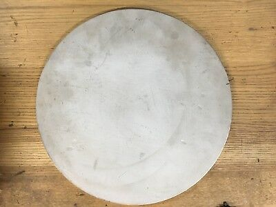 (1)pc. 1/2 INCH X 11 INCH 304 STAINLESS STEEL ROUND/DISC PLATE