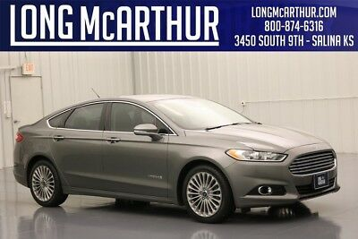 Ford Fusion TITANIUM HYBRID NAVIGATION HEATED LEATHER LANE KEEPING BLIS HEATED LEATHER TECHNOLOGY PACKAGE NAV NAVIGATION AUTOMATIC