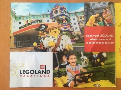KIDS GO FREE w/paid Adult Ticket To LEGOLAND California or Florida Resorts