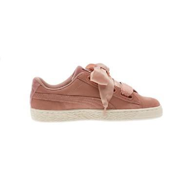 PUMA SUEDE HEART VR Women Sneakers Shoes Plum-Rose Gold-Whisper ... 78e3ccedf