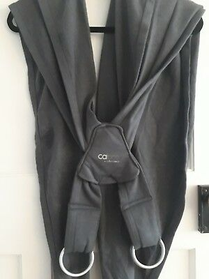 Close Parent Caboo+ Organic Baby Carrier, Charcoal - excellent condition