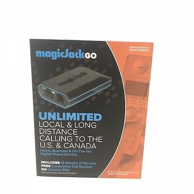 Magicjack Go Digital Phone Service Free Unlimited Calling to US and Canada