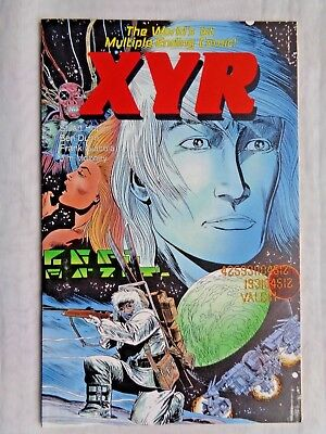 XYR The Seekers of Valcin March 1988 Eclipse Graphic Novel 1st Printing NM (9.4)