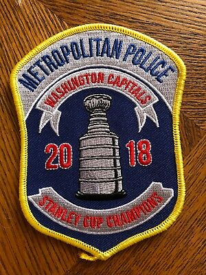 Washington Capitals Stanley Cup DC Police Patch