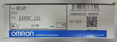 Omron; MY4N, Relay, 24VDC, 10/Box