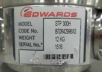 BOC EDWARDS Turbomolecular Pump STP-300H