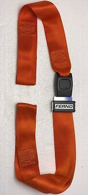 Ferno Stretcher Restraint Straps 5' two piece set Automotive Metal Buckle Style